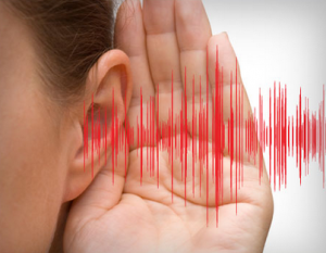 Using your sense of hearing to clean better